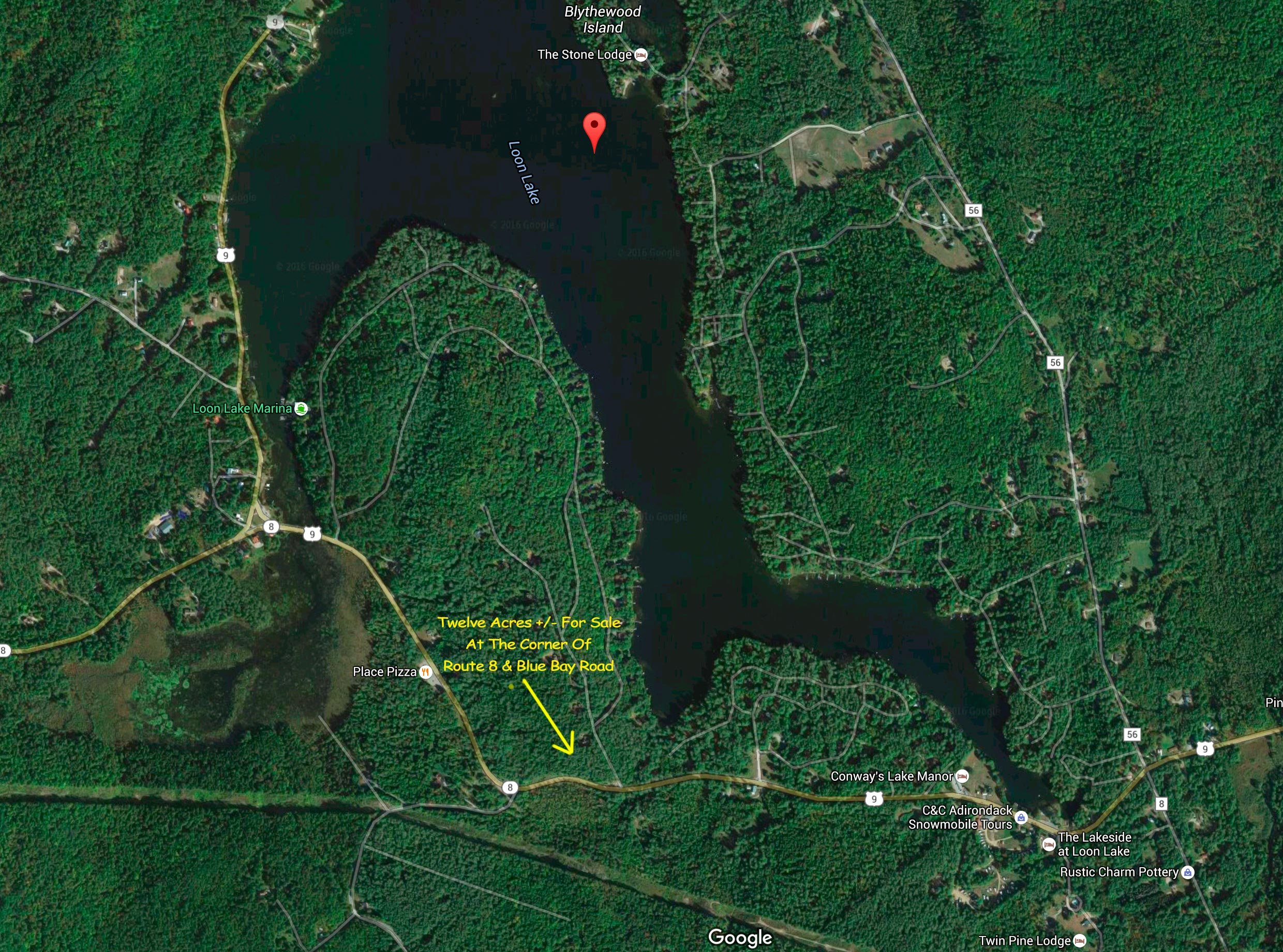 12 Acres +- at 5249 State Route 8, Loon Lake, NY 12817