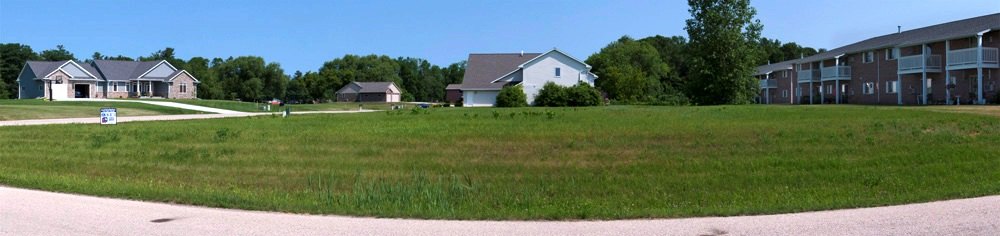 Desirable RS Building Lot in Peshtigo!Quiet, private location on a corner lot with utilities on site. Area of upper scale homes. Across the street from the Peshtigo River. Deed restrictions apply. No manufactured homes.