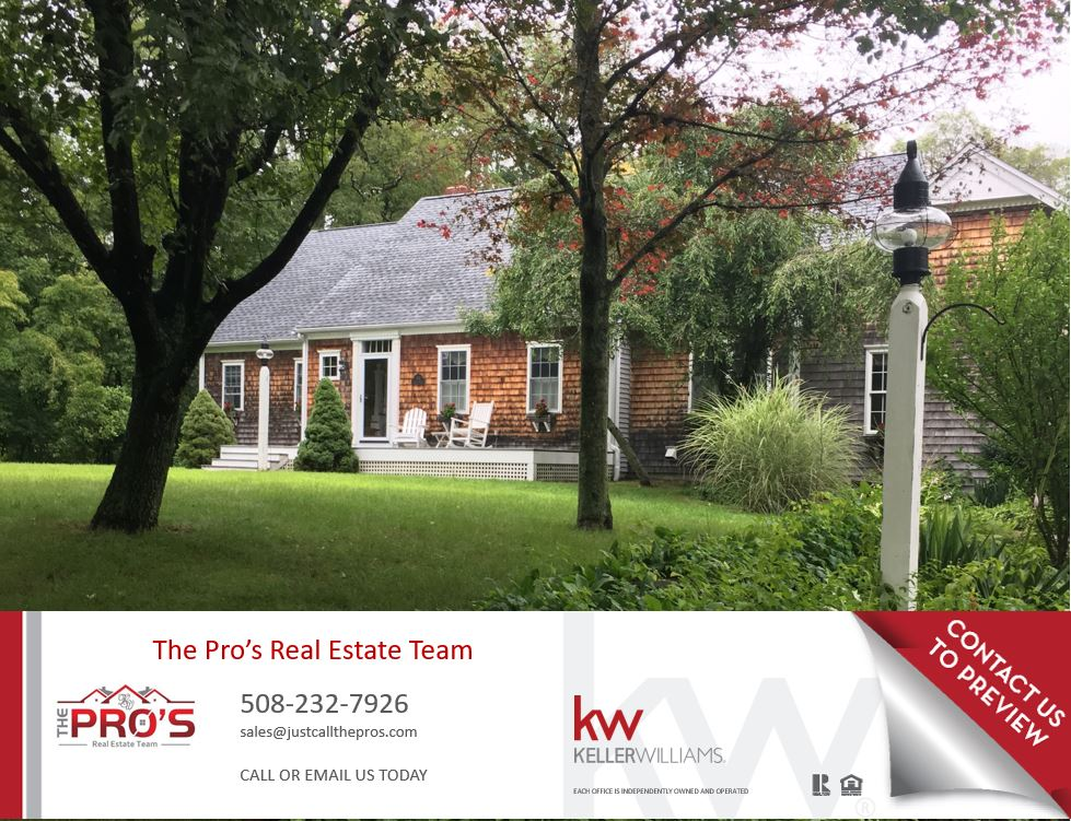 First Showings at Open House this Sunday 7/30/17 from 11:30-1:00pm.  Car Enthusiasts, Small Business Owners & large equipment owners take note: You Must see this sprawling over sized cape. With 4000+ sq ft of living space, you wont be disappointed. The warmth of a cottage with the spaciousness of a large colonial. 3 large bedrooms in the main home all feature walk in closets. Large open floor plan with custom gourmet kitchen, breakfast nook & formal dining room. Lovely built-ins surround the fireplace & cathedral ceilings. Master suite is located on 1st flr for ease of single level living. In the walk out lower level you will find 2 more bedrooms, another kitchen, family room and fireplaced living room. Plus, 2 car garage attached. In the back of the lot you have an additional 5 car garage equipped w/ workshop & a finished living area suitable for in home business, game room, additional living quarters or you can just relax in the hot tub or on one of two decks over looking the gardens. Do not miss this! Only 8 min to 495 & 10min to Franklin T-Station.  For more information or to view the 3D Virtual Tour, click this link.  http://437centerst.thebestlisting.com/    Disclosure:  Private passing Title V septic system rated for 3 bedrooms.  Actual rooms may vary.  Additional living space above detached garage not included in overall living space