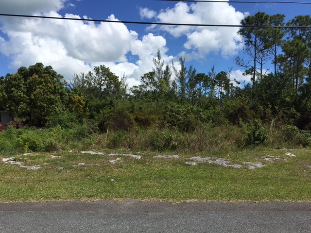 Inexpensive out-West New Providence house lots that are vacant