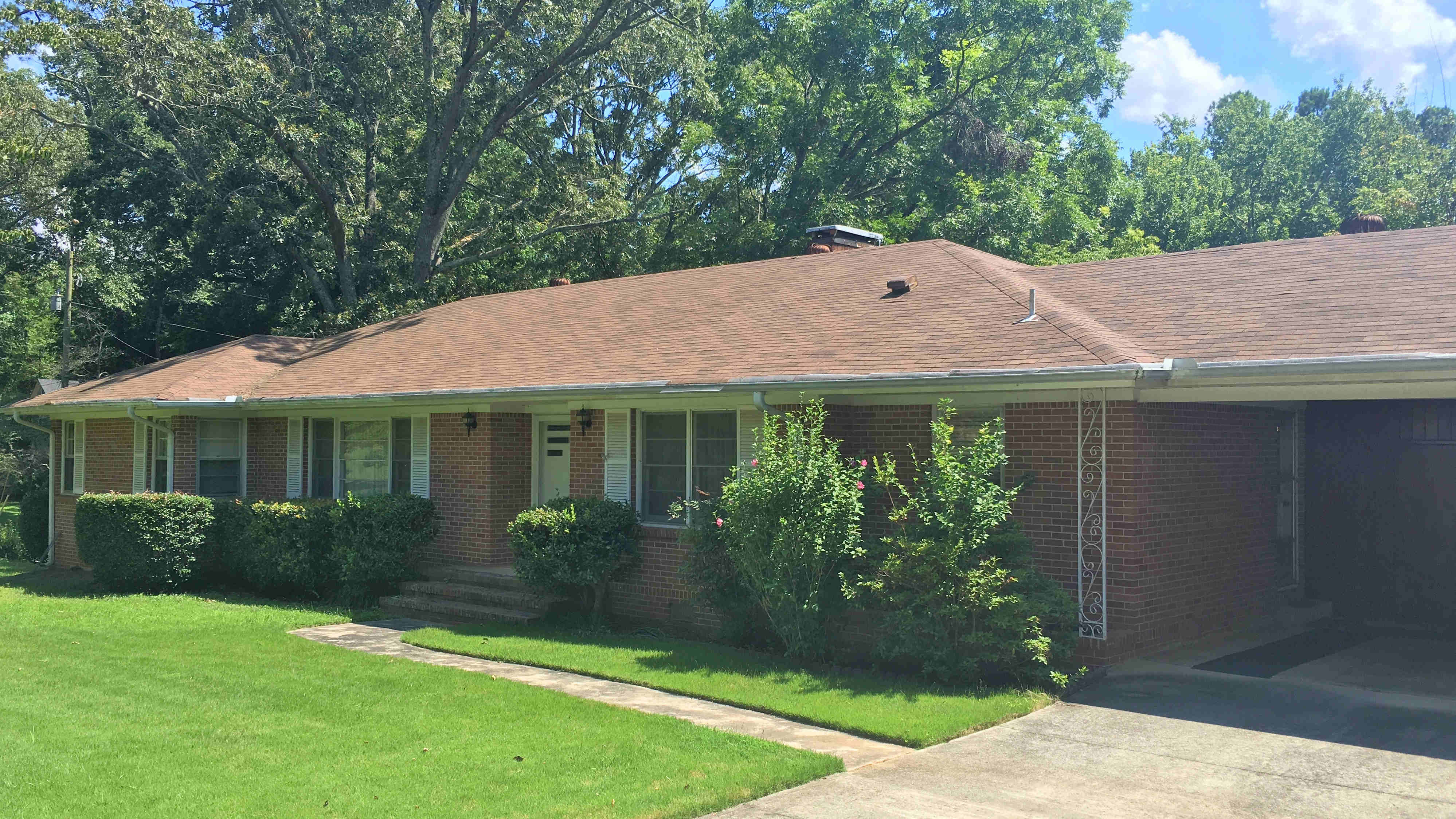 This one owner brick ranch is perfect for anyone with a vision! So much space/kitchen, breakfast, sunroom, fammily room/den, dining room, living room, 3br/2ba, and workshop in tall crawl. Screened porch, huge deck, apple/pear trees and giant double lot.