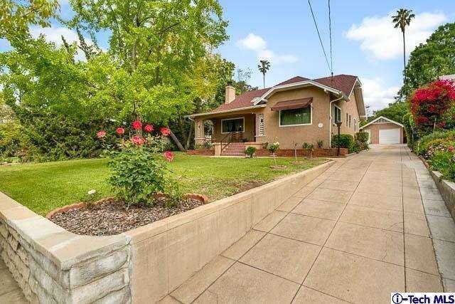 953 East Elizabeth St , Pasadena, CA 91104